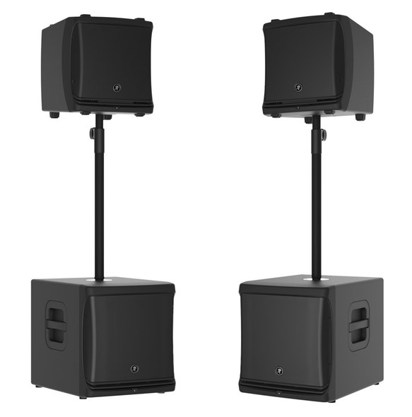 Mackie DLM12 and DLM12S Active PA Bundle