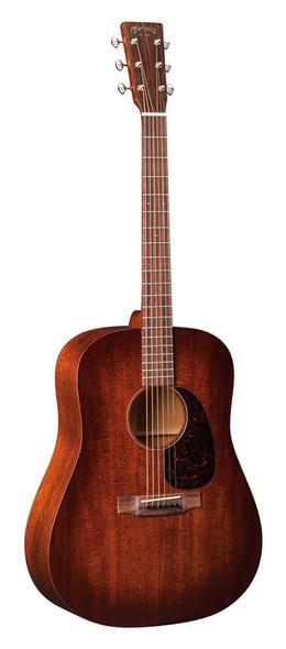 Martin D-15M Burst Acoustic Guitar, Mahogany Burst