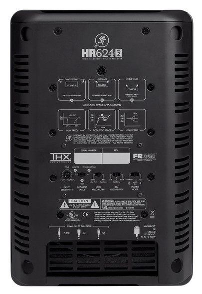 Mackie HR624mk2 Active Studio Monitors (Pair)