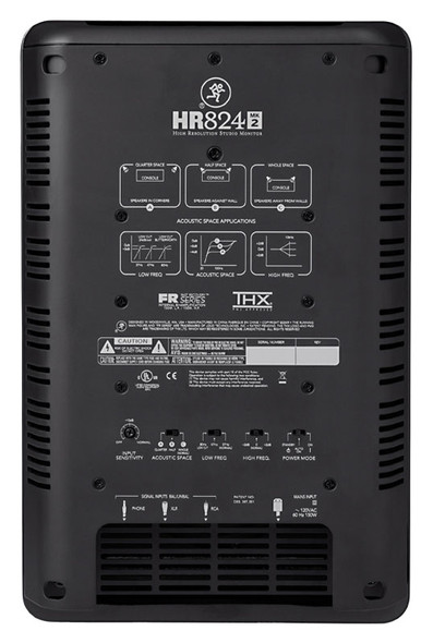 Mackie HR824mk2 active studio monitor (each)