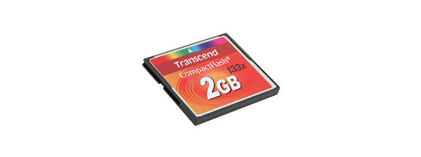 Transcend 2Gb Compact Flash card (133x)