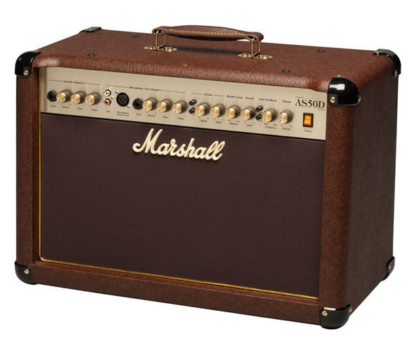 Marshall AS50D Acoustic Soloist 50W Combo Amplifier with Digital Effects