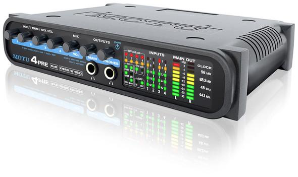 MOTU 4pre Hybrid Firewire/USB Audio Interface