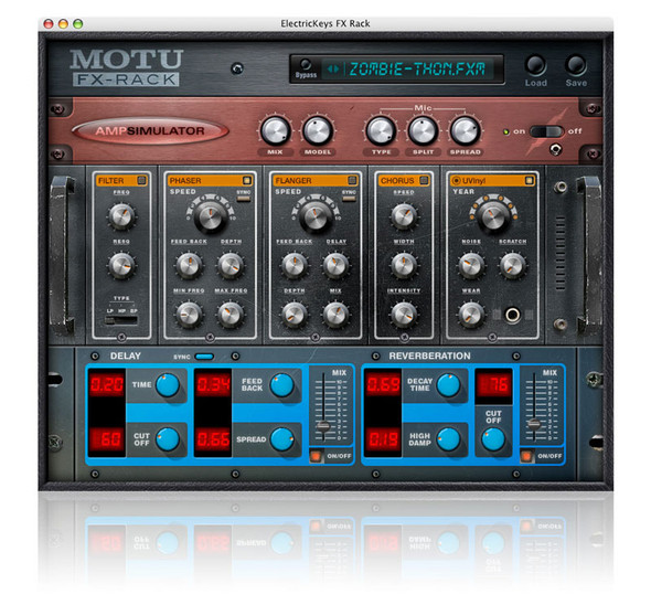 MOTU Electric Keys