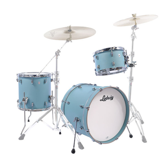 Ludwig NeuSonic 22,12,16 Shell Pack in Skyline Blue