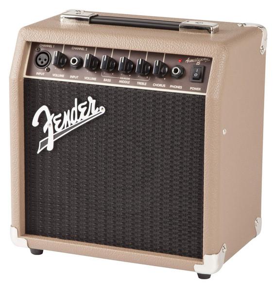 Fender Acoustasonic 15 Electro-Acoustic Guitar Combo Amplifier