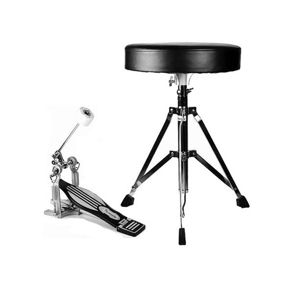 Mapex Tornado Drum Throne and Kick Pedal Pack