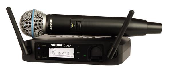 Shure GLXD24UK/B58 Beta 58A Digital Wireless Microphone System  (ex-display, no box)