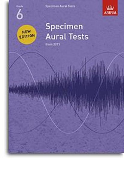 ABRSM Specimen Aural Tests - Grade 6 (2011+) Book Only