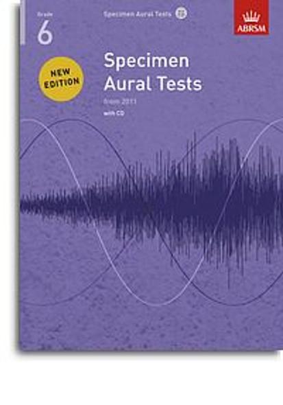 ABRSM Specimen Aural Tests - Grade 6 (2011+) Book/CD