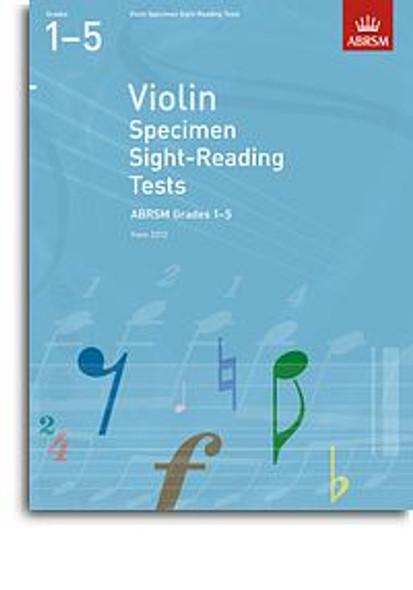 ABRSM: Violin Specimen Sight-Reading Tests - Grades 1-5 (From 2012)