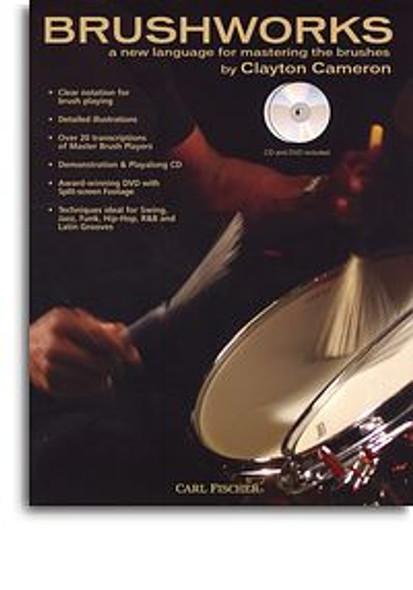 Clayton Cameron: Brushworks (Book/DVD/CD)
