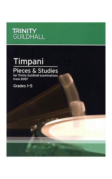 Trinity Guildhall: Timpani Pieces And Studies 2007 - Grades 1-5