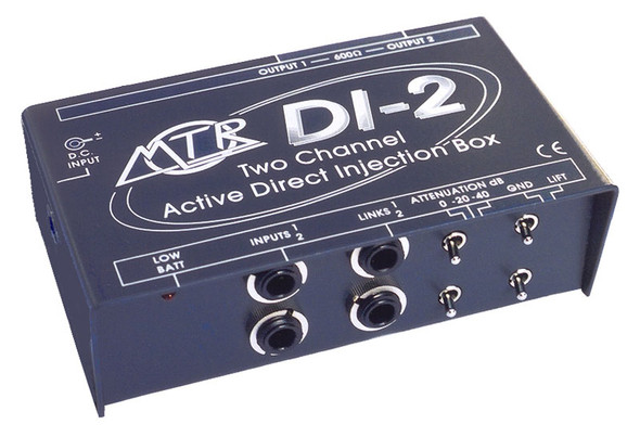 MTR DI-2 active stereo DI box