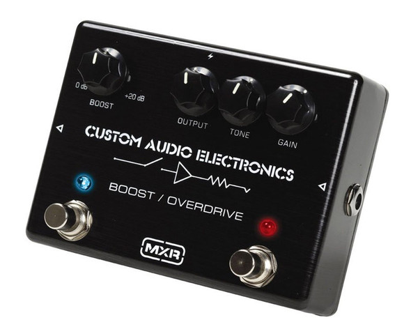 MXR MC-402 Custom Boost / Overdrive Guitar Pedal