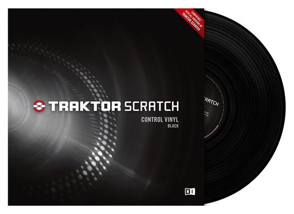 Native Instruments Traktor Scratch Control Vinyl, Black