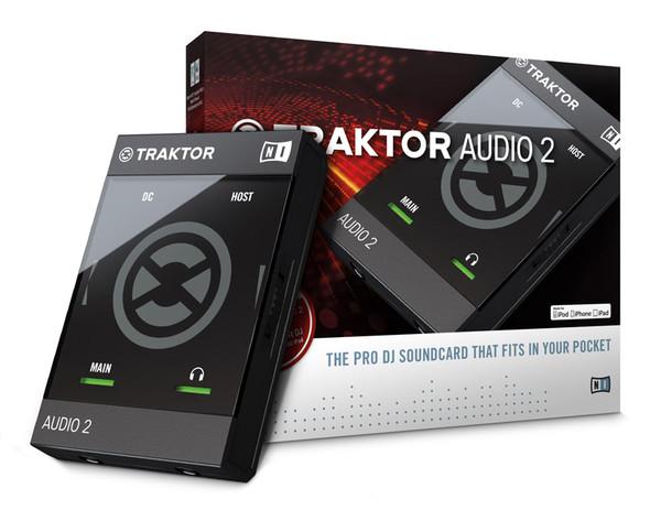 Native Instruments Traktor Audio 2 Mk2 USB Audio Interface