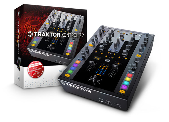 Native Instruments Traktor Kontrol Z2 2+2 Channel Control DJ Mixer