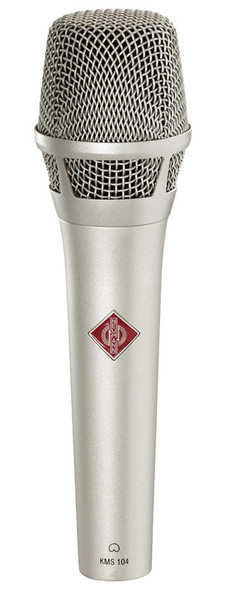Neumann KMS 104 Plus Handheld Cardioid Microphone for Female Vocalists, Nickel