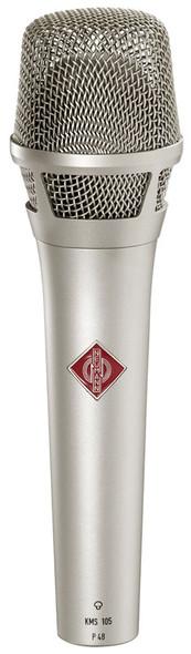 Neumann KMS105 Handheld Condenser Microphone, Supercardioid (Nickel)