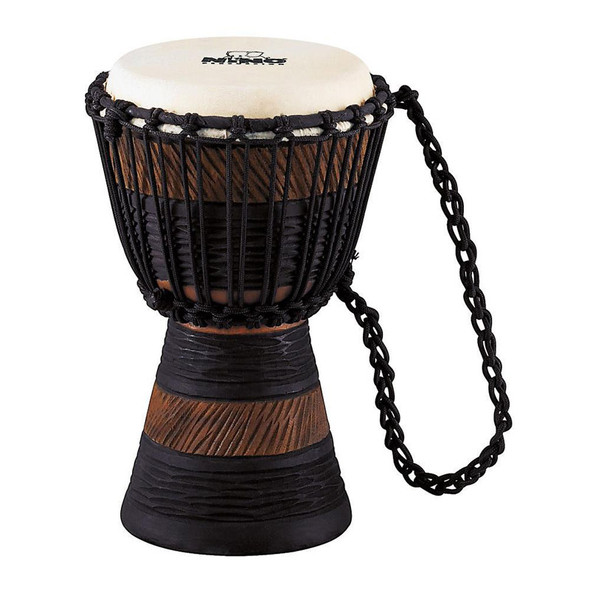 Nino NINO-ADJ3-XS 7 Inch Earth Rhythm Djembe, Brown/Black