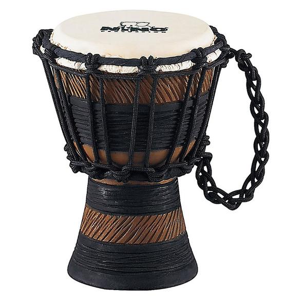 Nino NINO-ADJ3-XXS 4 1/2 Inch Earth Rhythm Djembe, Brown/Black