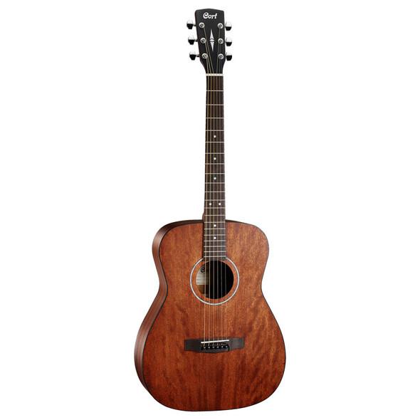 Cort AF510M Acoustic Guitar, Mahogany Open Pore