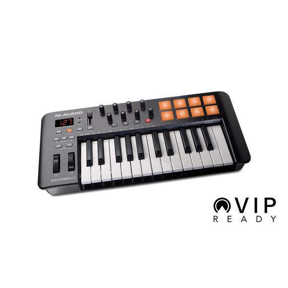 M-Audio Oxygen 25 MK IV MIDI Controller Keyboard  (Ex-Display)
