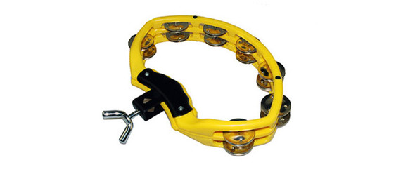 Natal  NSDY Spirit Drumset Mount Tambourine in Yellow