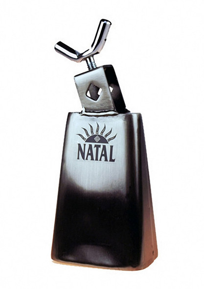Natal Spirit NSTC4 4 1/2 inch Cowbell Black Nickel Small