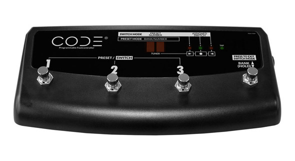 Marshall PEDL-91009 4-Way Footswitch for Code Amps