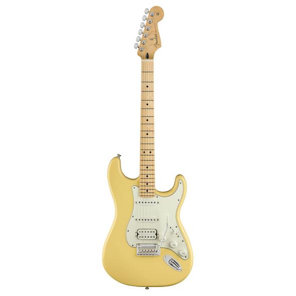 Fender Player Stratocaster HSS Electric Guitar, Buttercream, Maple
