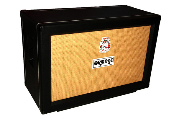 Orange PPC212 2 x 12 Closed Back Guitar Cabinet Black