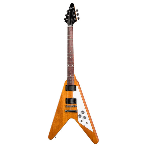 Gibson Flying V Electric Guitar, Antique Natural