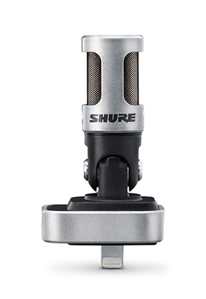 Shure MOTIV MV88 Microphone for Lightning Equipped Apple iOS Devices