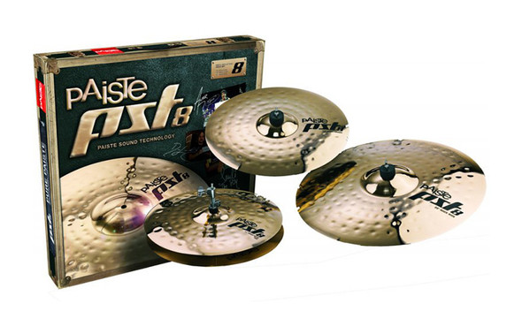 Paiste PST8 Rock Cymbal Set
