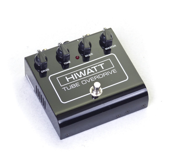 Hiwatt Tube Overdrive Guitar Effects Pedal with Power Supply (Pre-Owned)