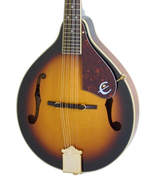 Epiphone MM-30S A-Style Mandolin, Antique Sunburst, Gold Hardware