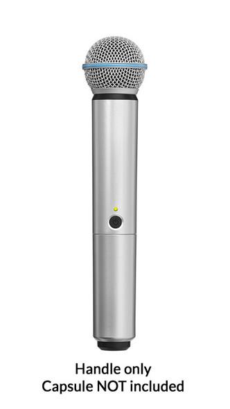 Shure BLX SM58/BETA58A Handle Components, Silver