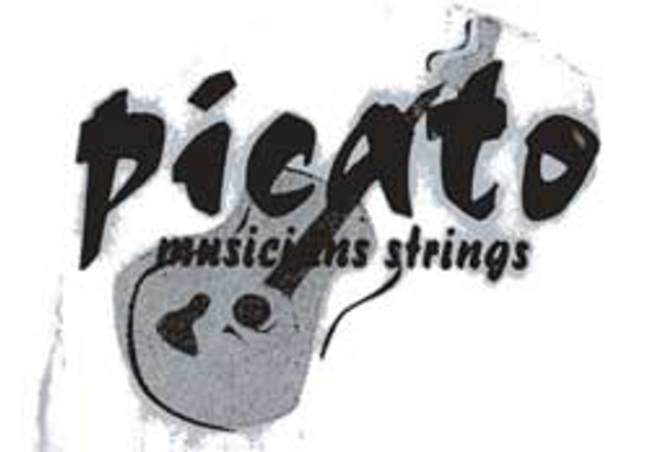 Picato Flatwound 4 String Bass Strings, Gauge 45-100 96658