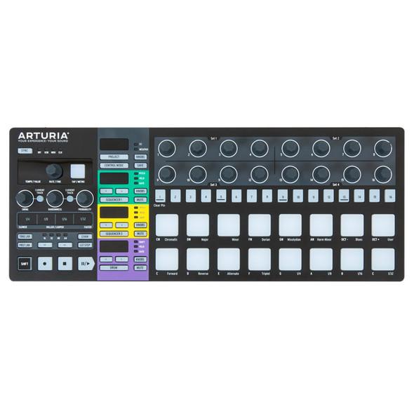 Arturia Beatstep Pro Step Sequencer and Control Surface, Ltd Ed Black