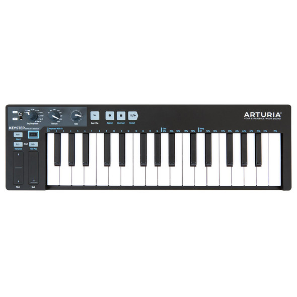 Arturia KeyStep Controller and Sequencer, Ltd Ed Black