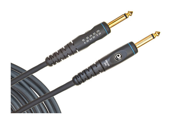 Planet Waves PW-G-10 Custom Series Instrument Cable, 10 feet