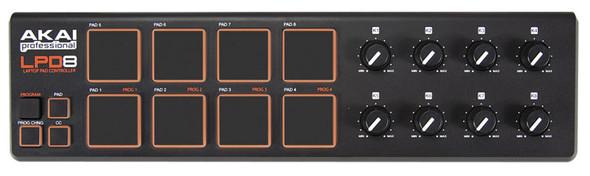 Akai LPD8 Laptop Pad Controller (USB)