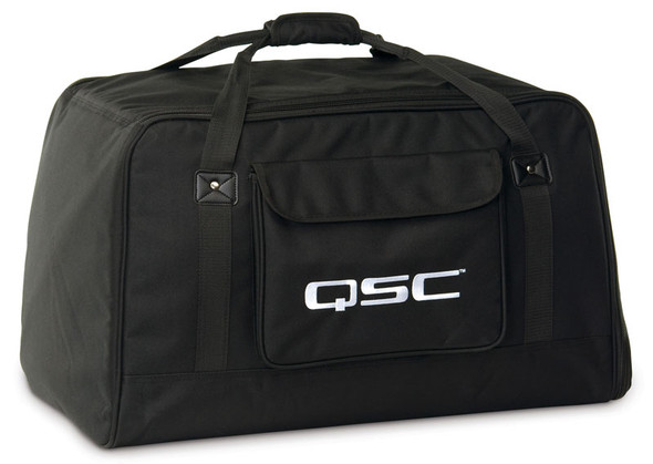 QSC K12 Tote - soft, padded, weather resistant bag for K12 PA speaker