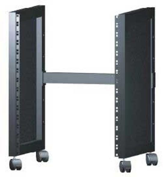 QuikLok RS513 14U rack with castors