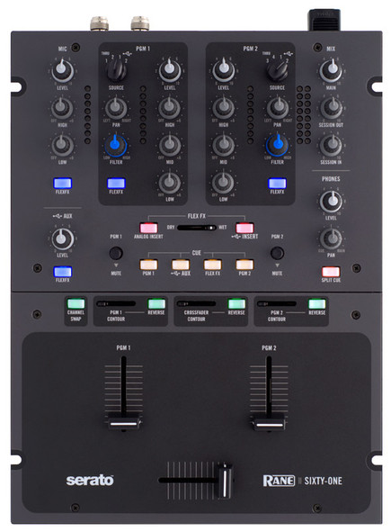 Rane Sixty One DJ Mixer and USB Interface