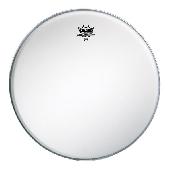 Remo BR-1122-00 Ambassador 22 Inch Coated Bass Drum Head