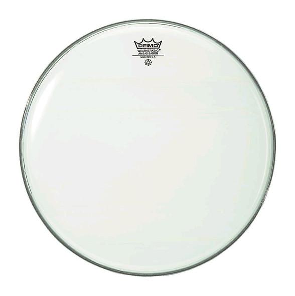 Remo BA-0214-00 Ambassador Smooth White 14 Inch Drum Head