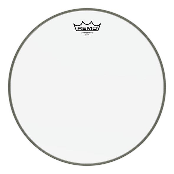 Remo BA-0318-00 Ambassador Clear 18 Inch Drum Head